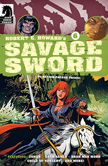 Robert E. Howard's Savage Sword #6