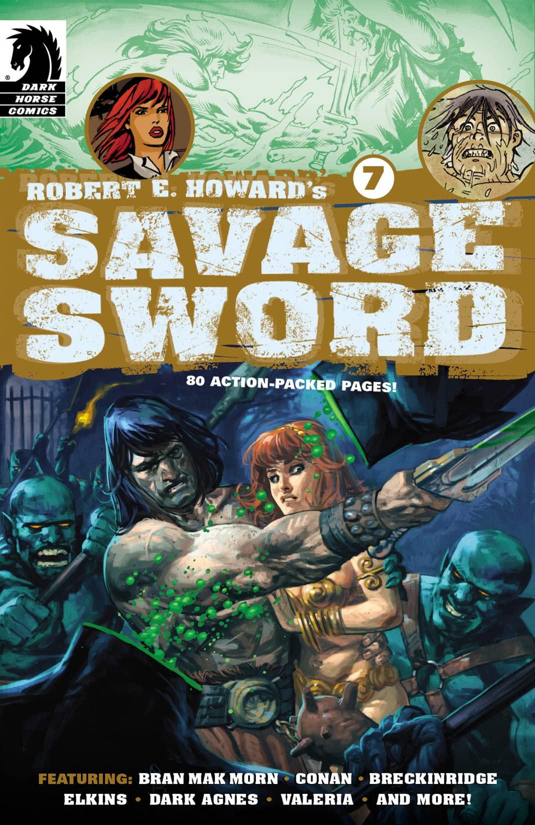 Robert E. Howard's Savage Sword #7