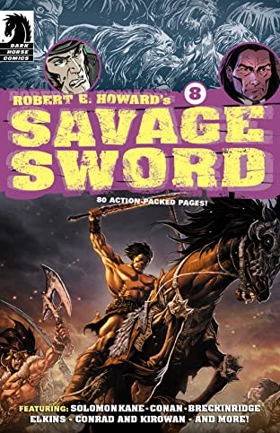 Robert E. Howard's Savage Sword #8