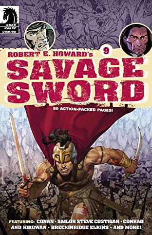 Robert E. Howard's Savage Sword #9