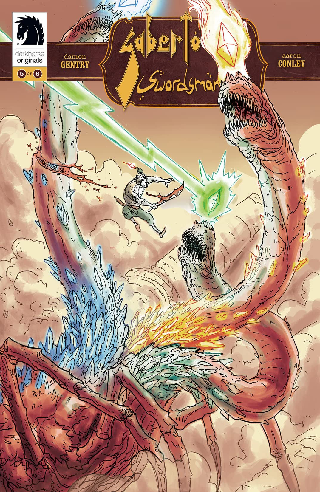 Sabertooth Swordsman #5
