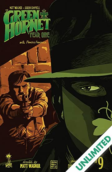 Green Hornet: Year One #9
