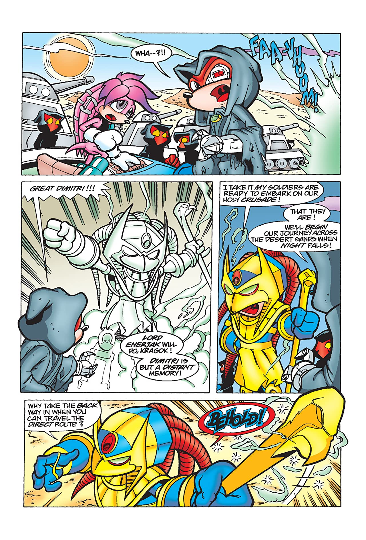 Knuckles the Echidna #9
