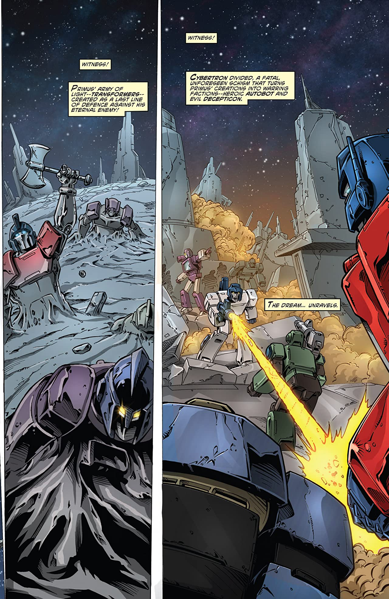 Transformers: Regeneration One #80.5: FCBD 2012