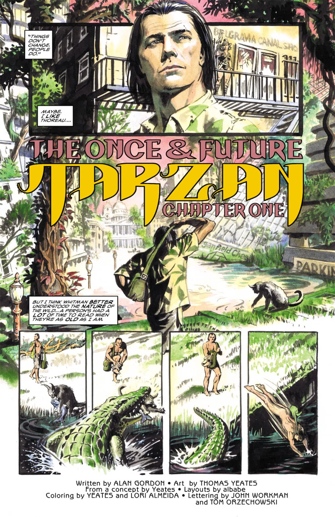 Tarzan: The Once and Future Tarzan #1