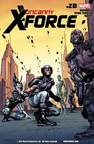 Uncanny X-Force (2010-2012) No.28