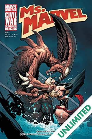 Ms. Marvel (2006-2010) #2