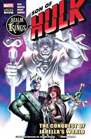 Realm of Kings: Son of Hulk #2 (of 4)