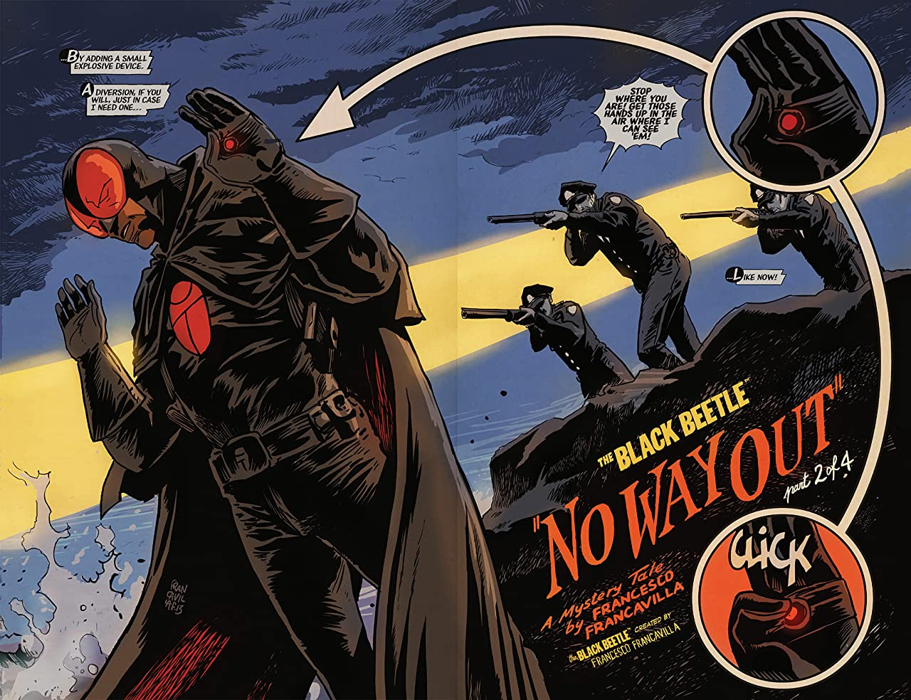 The Black Beetle: No Way Out #2