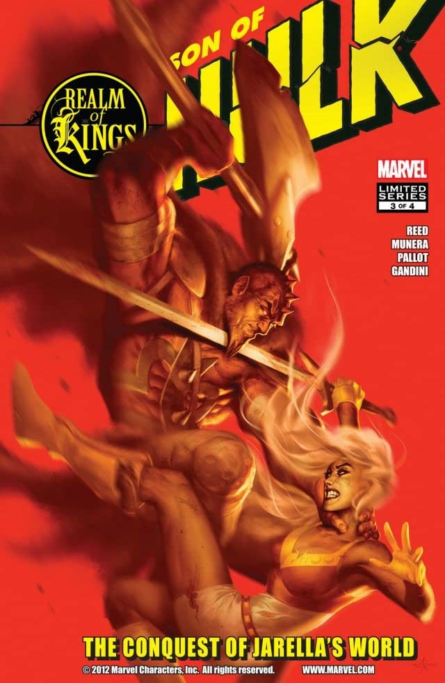 Realm of Kings: Son of Hulk #3 (of 4)