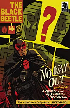The Black Beetle: No Way Out #4