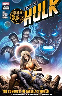 Realm of Kings: Son of Hulk #4 (of 4)