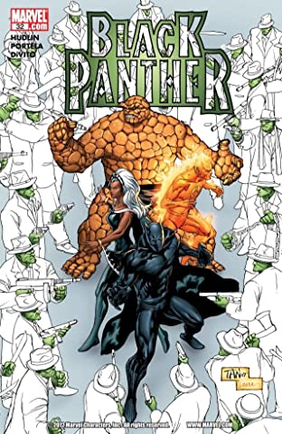 Black Panther (2005-2008) No.32