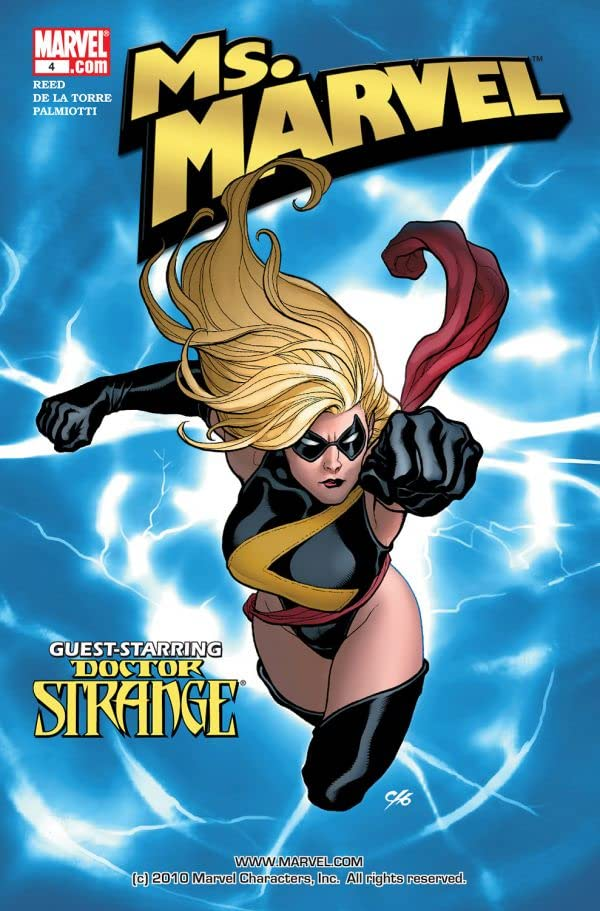 Ms. Marvel (2006-2010) #4