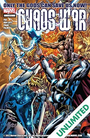 Chaos War #3 (of 5)