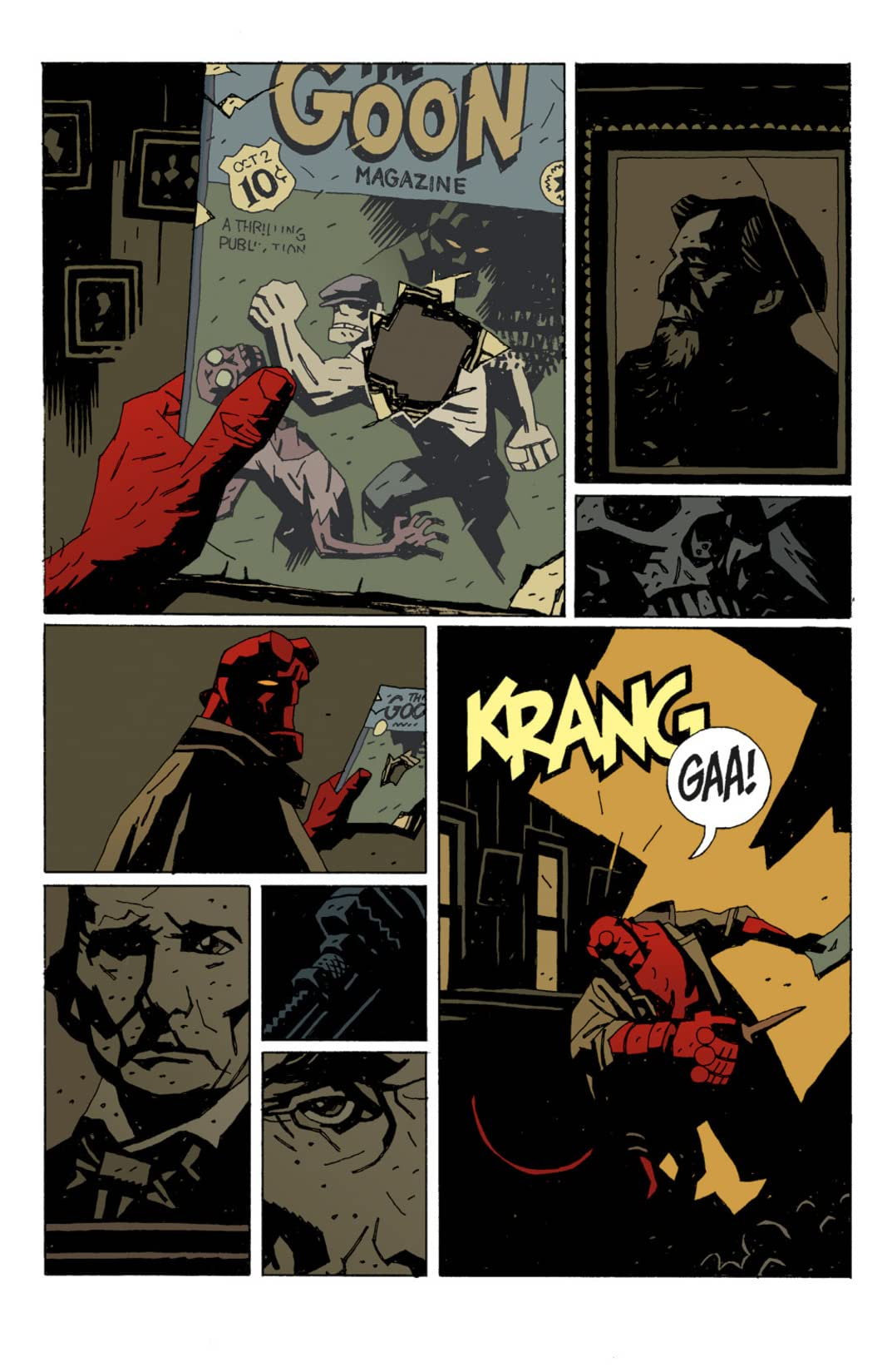The Goon #7: The Goon Featuring Hellboy