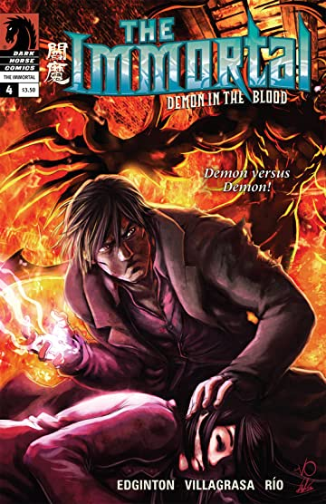The Immortal: Demon in the Blood #4