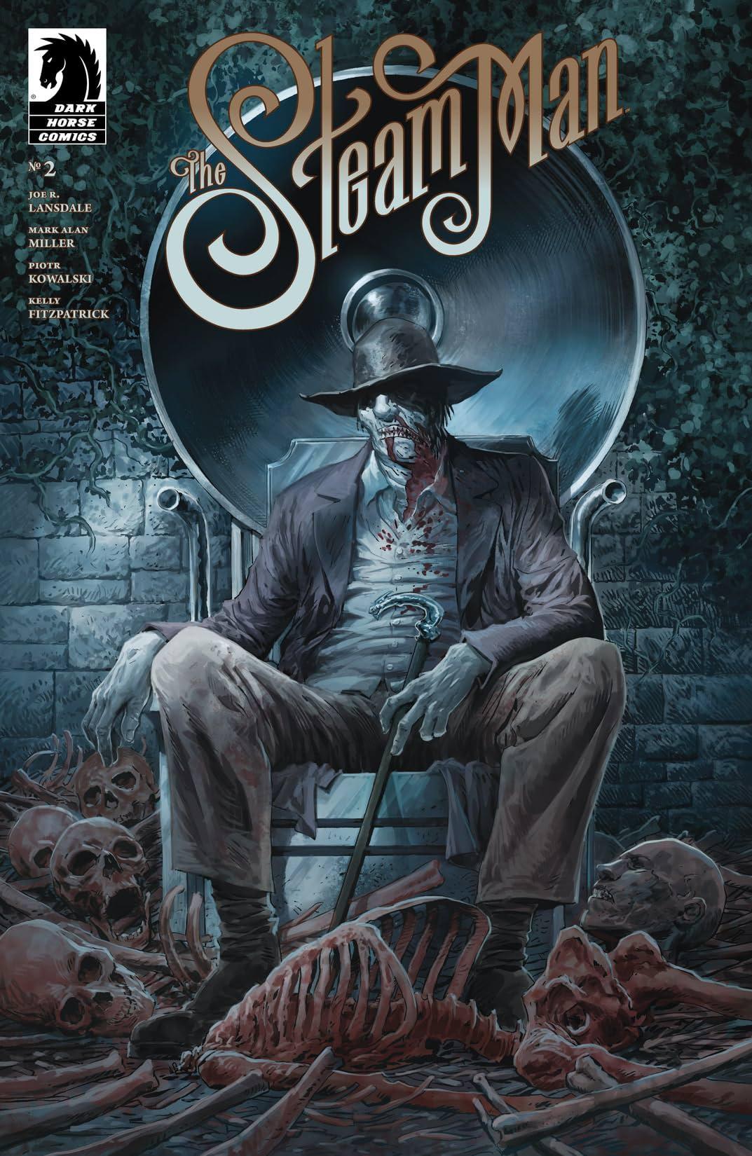 The Steam Man #2