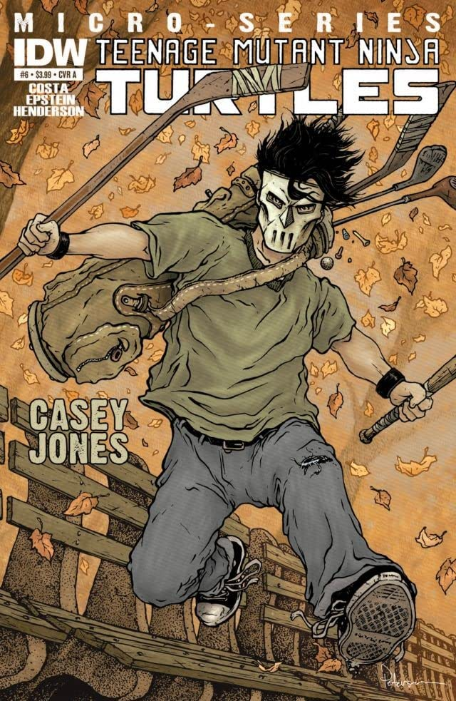 Teenage Mutant Ninja Turtles Micro Series #6: Casey Jones