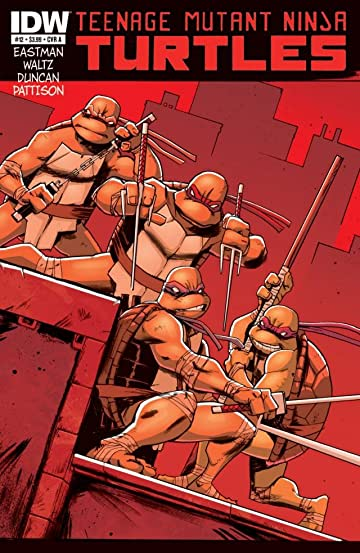 Teenage Mutant Ninja Turtles #12