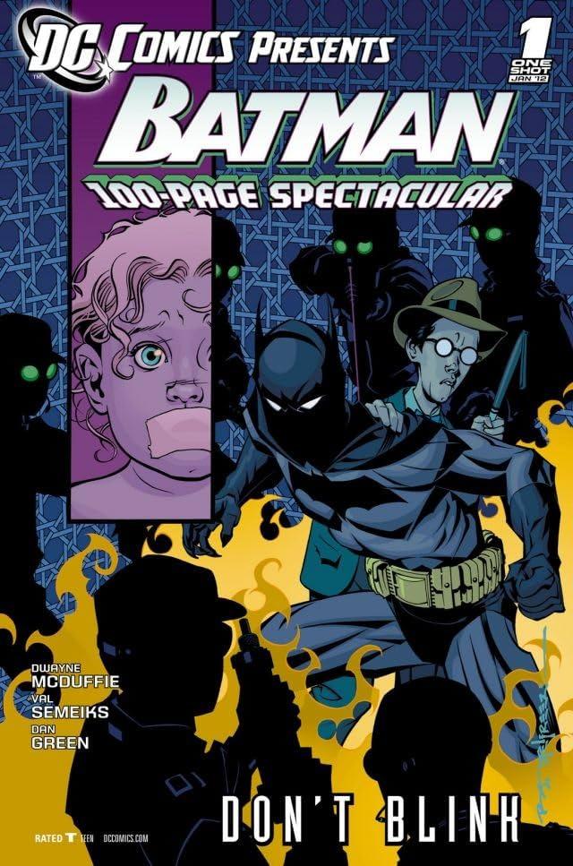 DC Comics Presents: Batman - Don't Blink #1