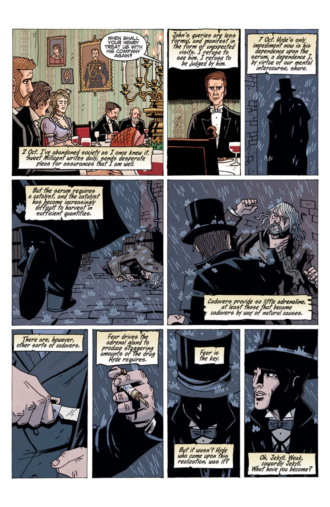 The Strange Case of Mr. Hyde #2