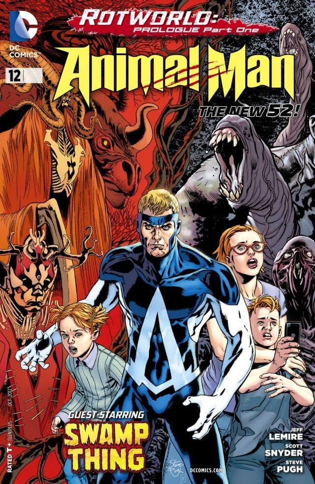 Animal Man (2011-2014) #12