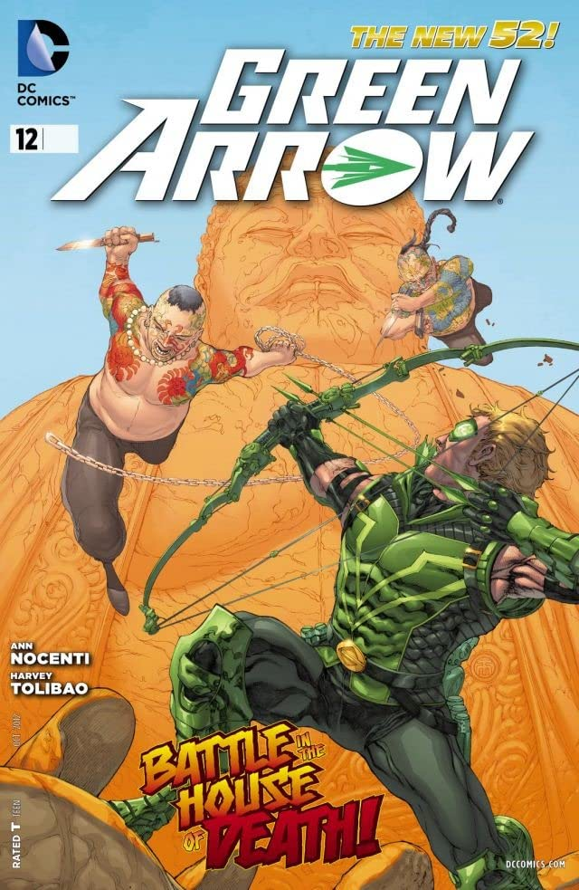 Green Arrow (2011-2016) #12