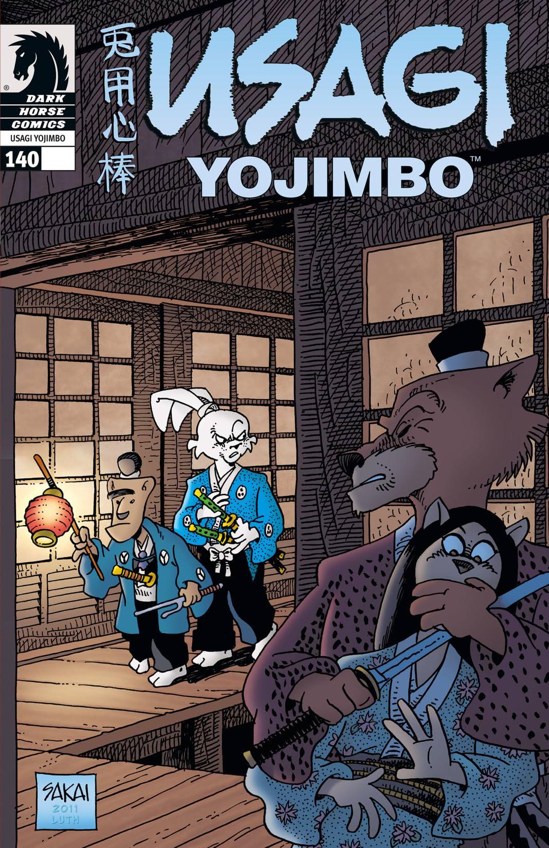 Usagi Yojimbo #140