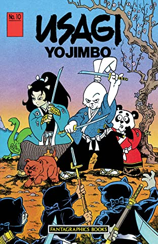 Usagi Yojimbo Tome 1 No.10