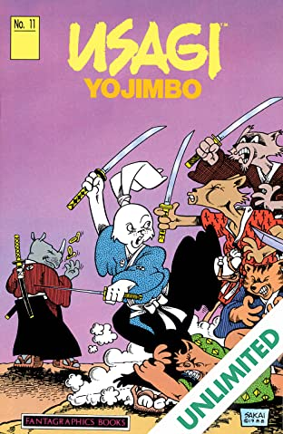 Usagi Yojimbo Vol. 1 #11