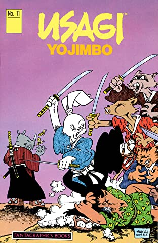 Usagi Yojimbo Tome 1 No.11