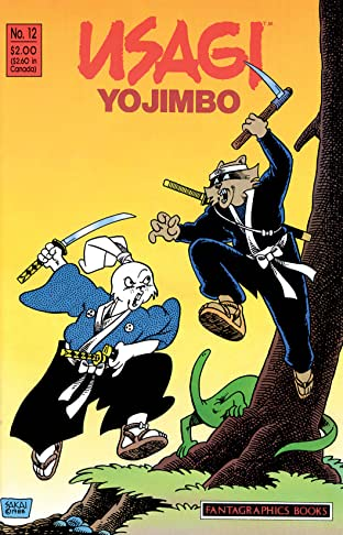 Usagi Yojimbo Vol. 1 #12