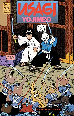 Usagi Yojimbo Vol. 1 #15