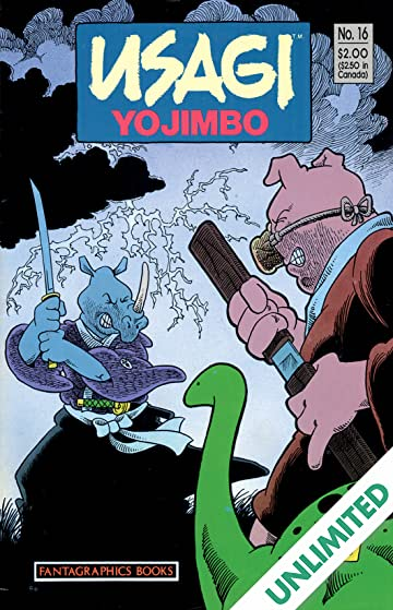 Usagi Yojimbo Vol. 1 #16