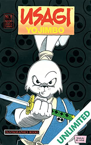 Usagi Yojimbo Vol. 1 #18