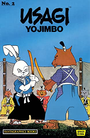 Usagi Yojimbo Tome 1 No.2