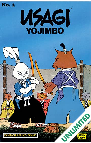 Usagi Yojimbo Vol. 1 #2