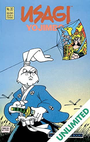 Usagi Yojimbo Vol. 1 #20