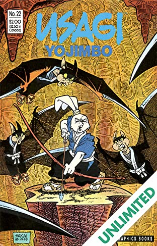 Usagi Yojimbo Vol. 1 #22