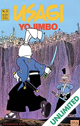 Usagi Yojimbo Vol. 1 #23