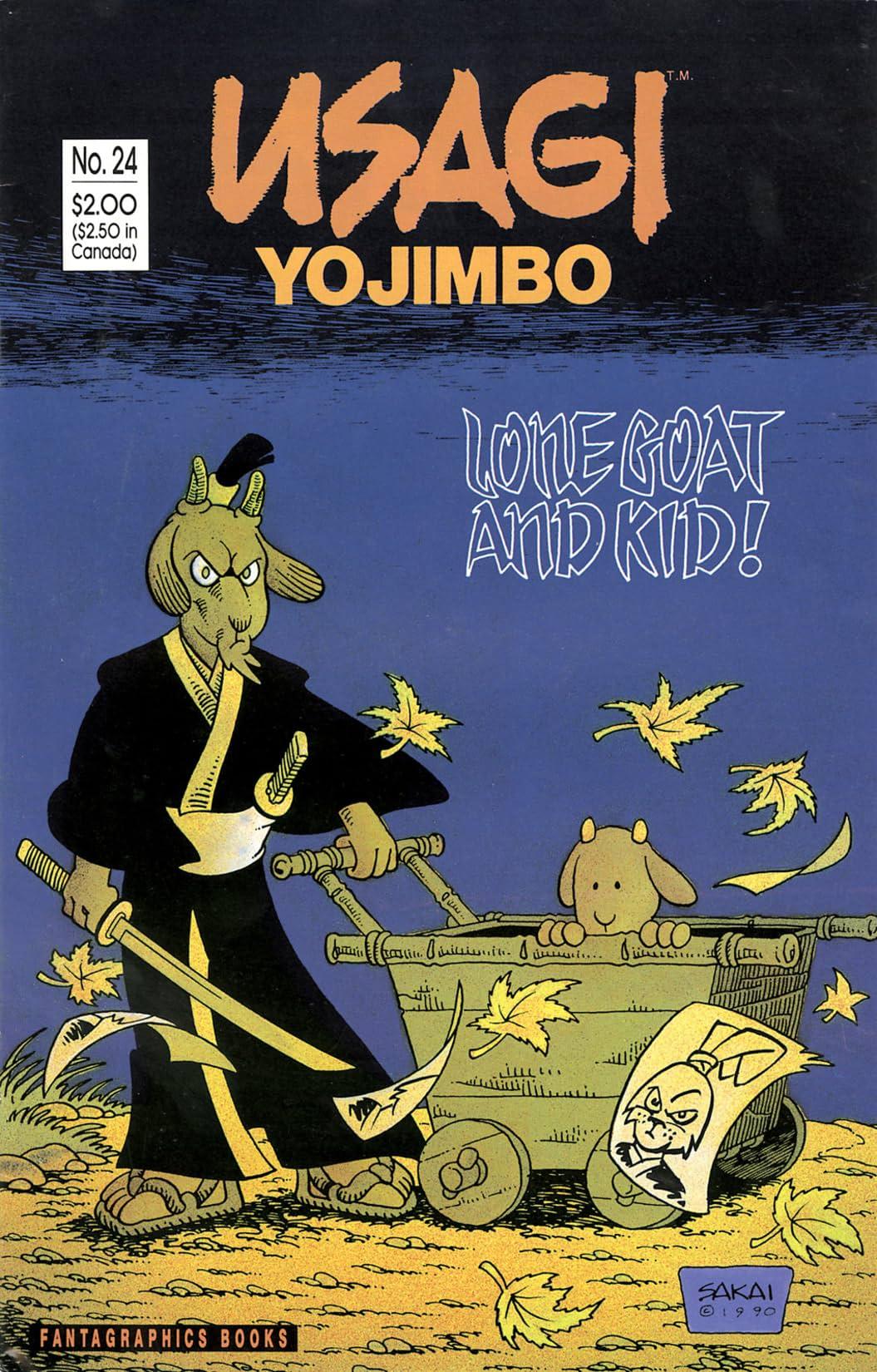 Usagi Yojimbo Vol. 1 #24