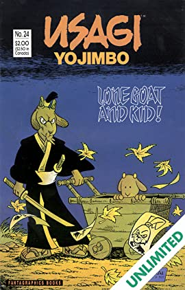 Usagi Yojimbo Vol. 1 #24