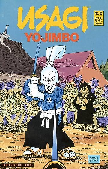 Usagi Yojimbo Vol. 1 #26
