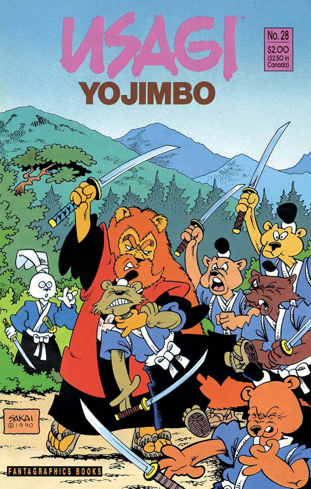 Usagi Yojimbo Vol. 1 #28