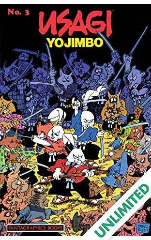 Usagi Yojimbo Vol. 1 #3