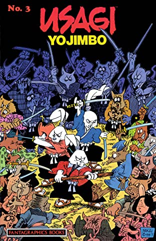 Usagi Yojimbo Tome 1 No.3
