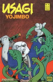 Usagi Yojimbo Vol. 1 #34