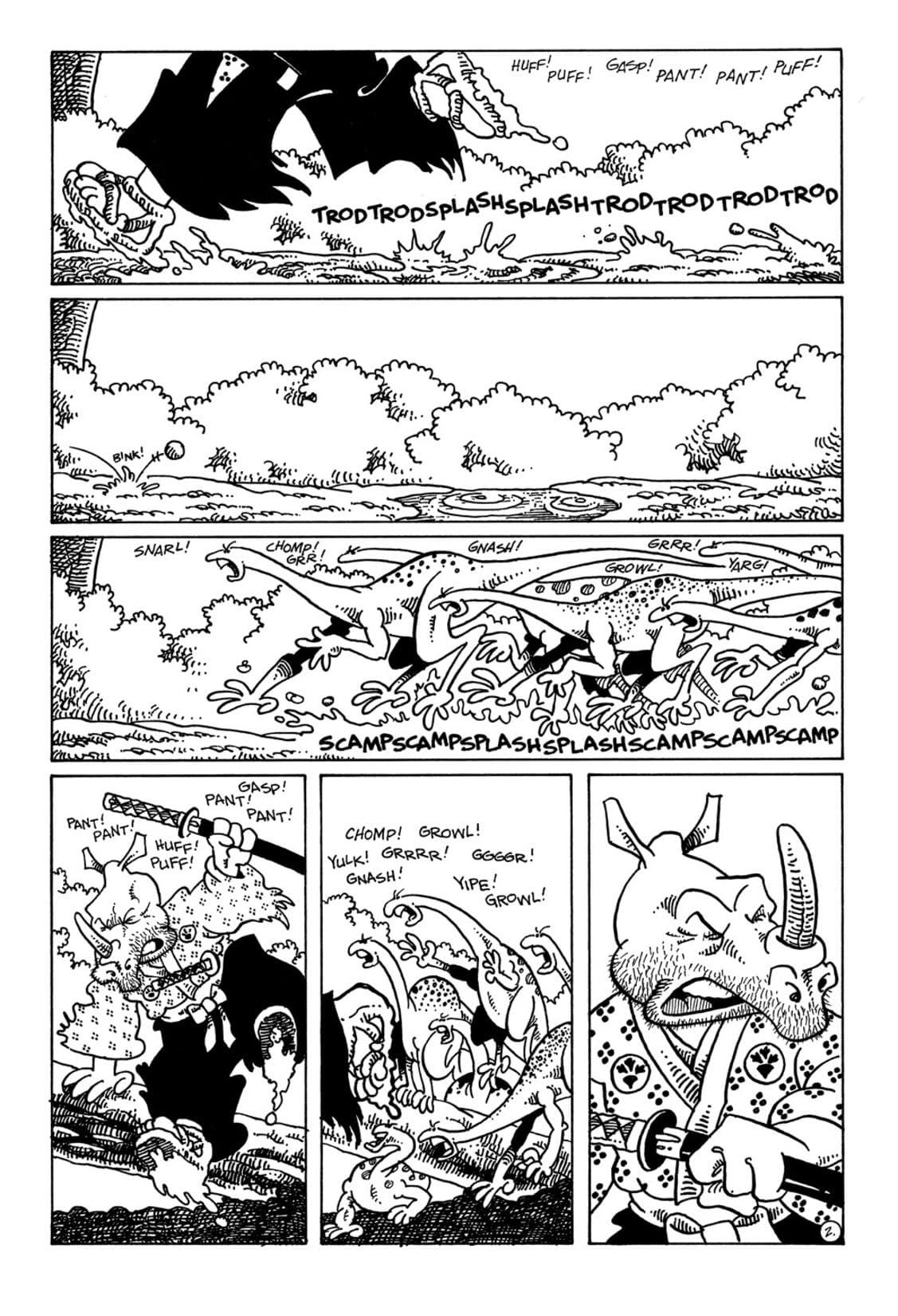 Usagi Yojimbo Vol. 1 #34