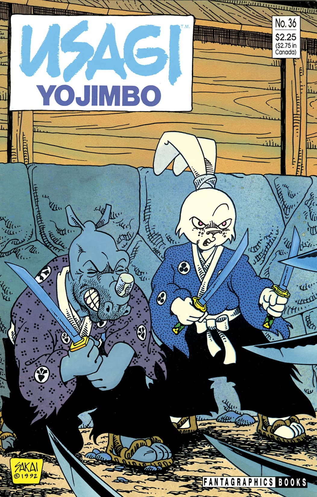 Usagi Yojimbo Vol. 1 #36
